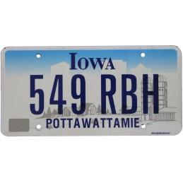 Iowa 549RBH - Authentic US...