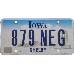 Iowa 879NEG - Autentická...