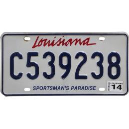 Louisiana C539238 -...