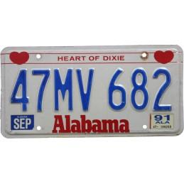Alabama 47MV682 -...