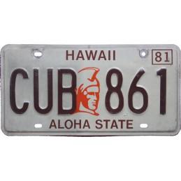 Hawaii CUB861 - Autentická...
