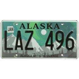 Alaska LAZ496 - Autentická...