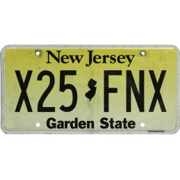 New Jersey X25FNX -...