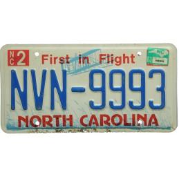 North Carolina NVN9993 -...