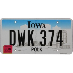 Iowa DWK374 - Authentic US...