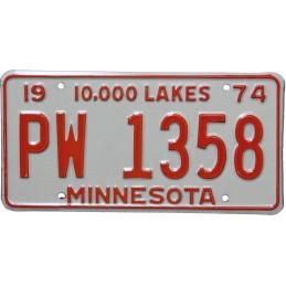 Minnesota PW1358 -...