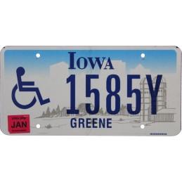 Iowa 1585Y - Authentic US...