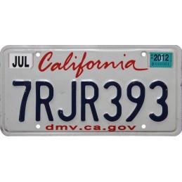 California 7RJR393 -...