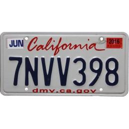 California 7NVV398 -...