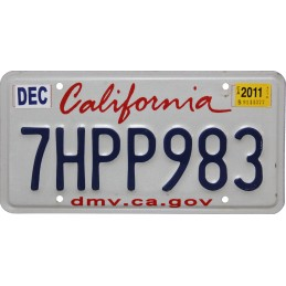 California 7HPP983 -...