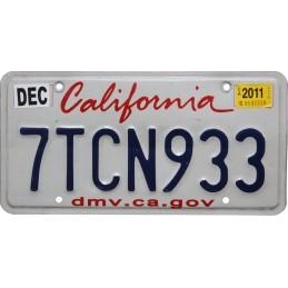 California 7TCN933 -...