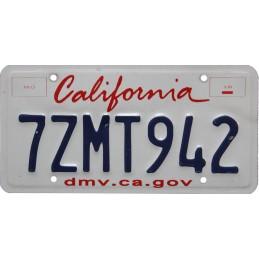 California 7ZMT942 -...