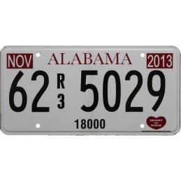 Alabama 62 5029- Authentic...