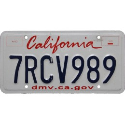 California 7RCV989 -...