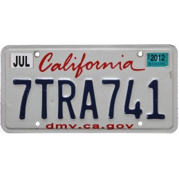 California 7TRA741 -...