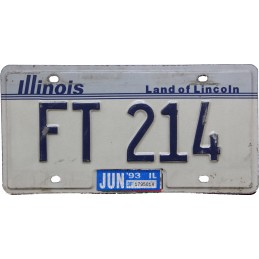 Illinois FT214 - Autentická...