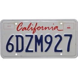 California 6DZM927 -...