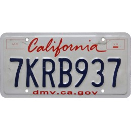 California 7KRB937 -...