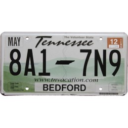 Tennessee 8A17N9 -...