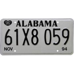 Alabama 61X8059 - Authentic...