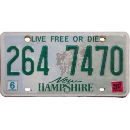 New Hampshire 264 7470 -...