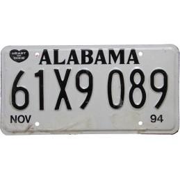 Alabama 61X9089 - Authentic...