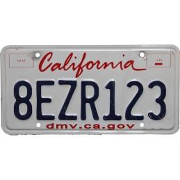 California 8EZR123 -...