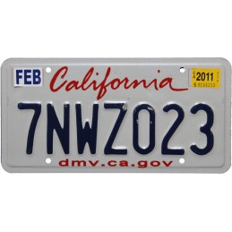 California 7NWZ023 -...